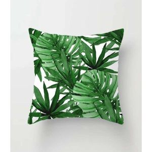 """Other - Tropical Leaf Palm Tree 18"""" Accent Pillow Cover"""